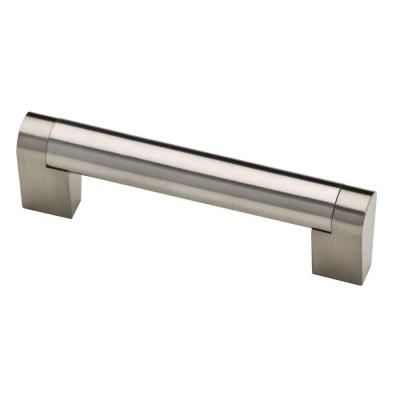Stratford 3-3/4 in. (96 mm) Center-to-Center Stainless Steel Bar Drawer Pull