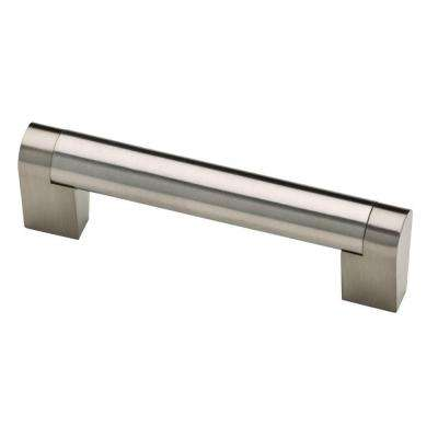 Stratford 3-3/4 in. (96mm) Stainless Steel Bar Drawer Pull