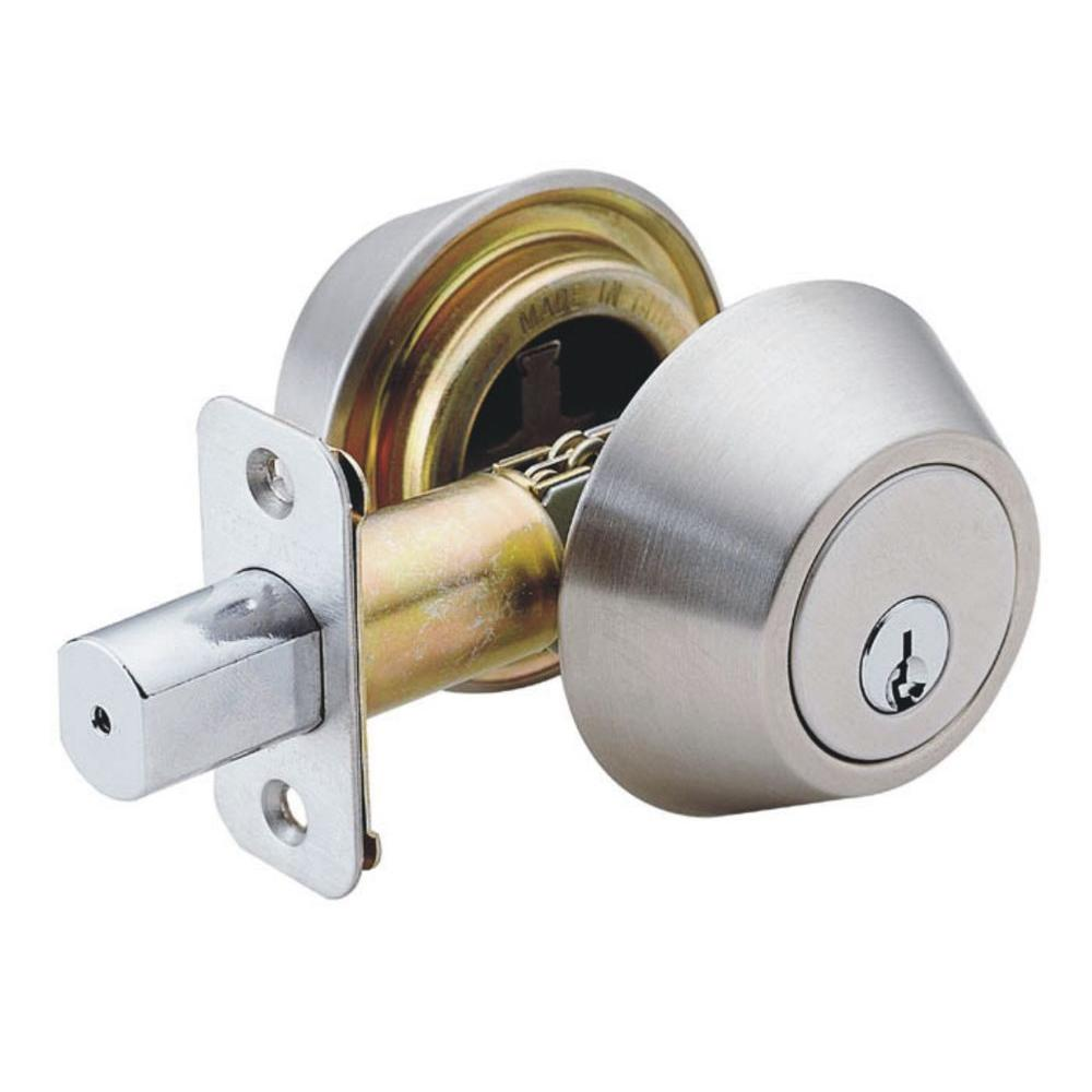Faultless Stainless Steel Double Cylinder Deadbolt-DL62-F - The Home ...