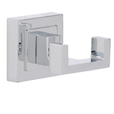 Adelyn Double Robe Hook in Chrome