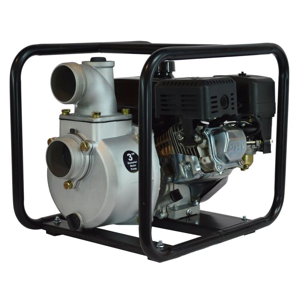 7 HP Semi Trash Water Pump