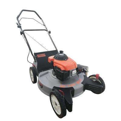 26 in. 208cc Rear Wheel Drive Gas Walk Behind Finish Push Mower with 3-in-1 Features (Bag/Discharge/Mulch)
