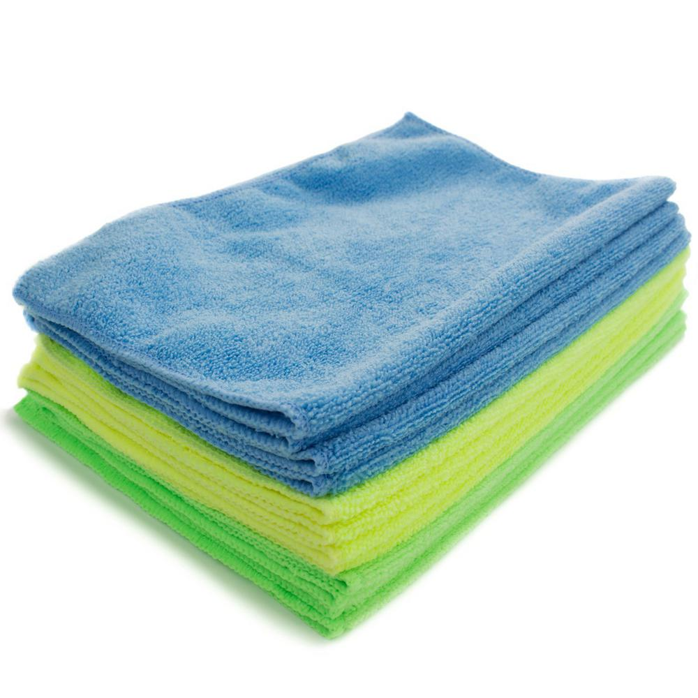 Zwipes Microfiber Cleaning Cloth (12-Pack)-735 - The Home Depot