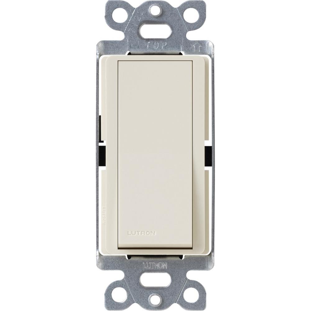 Diva 15 Amp 4-Way Switch, Light Almond (CA-4PS)-Light Almond