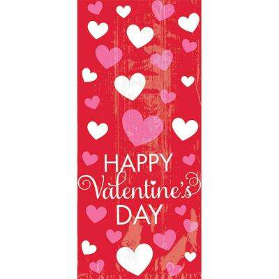 9.5 in. x 4 in. x 2.25 in. Happy Valentine's Day Small Cello Bag (20-Count 7-Pack)
