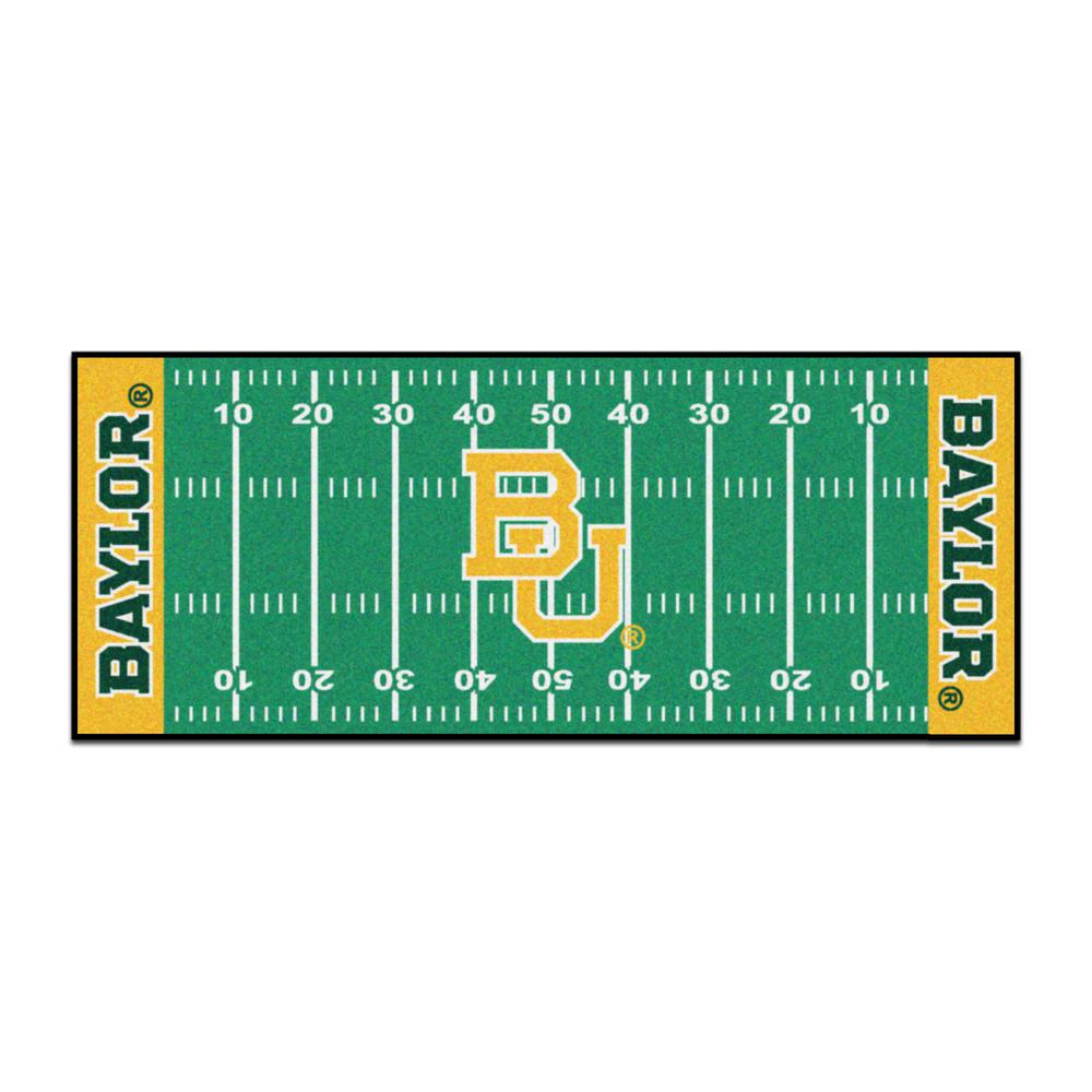 NCAA - Baylor University Green 3 ft. x 6 ft. Indoor