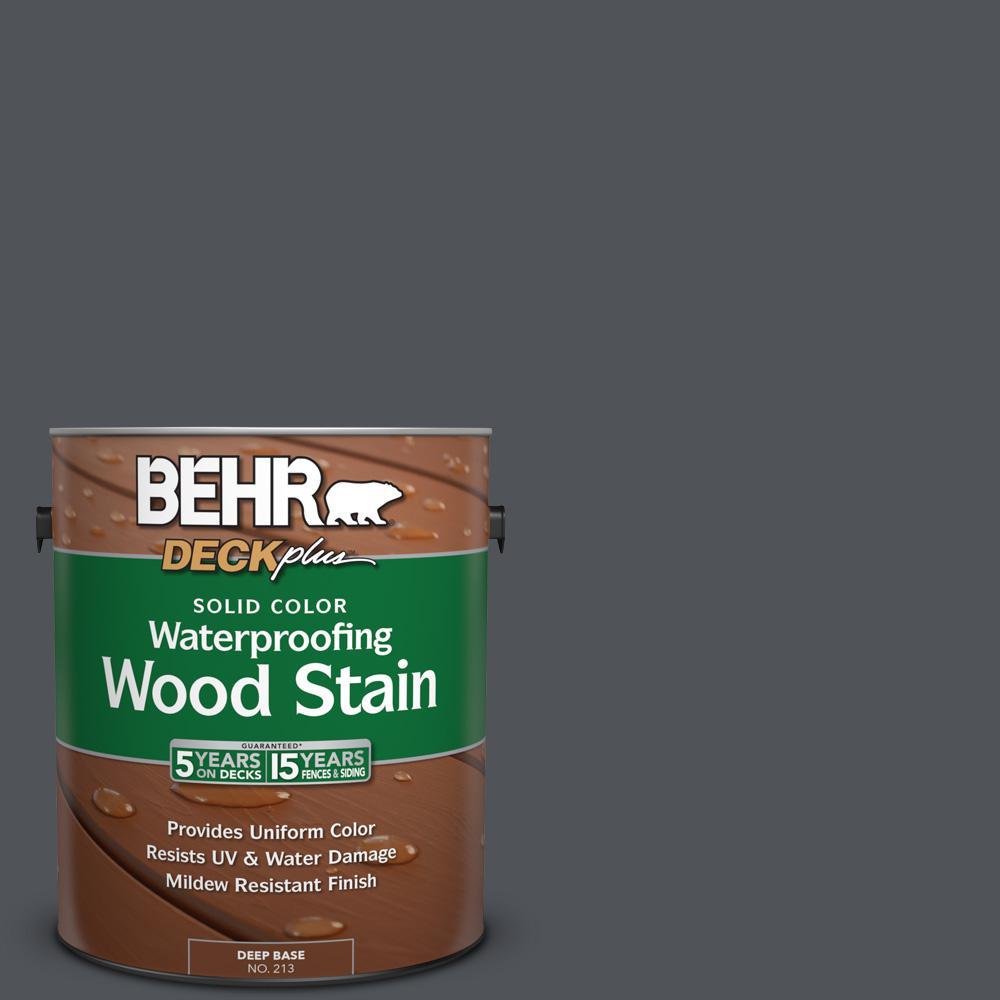 1 gal. #N510-6 Orion Gray Solid Color Waterproofing Wood Stain