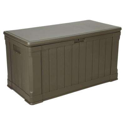 116 Gal. Polyethylene Outdoor Deck Box