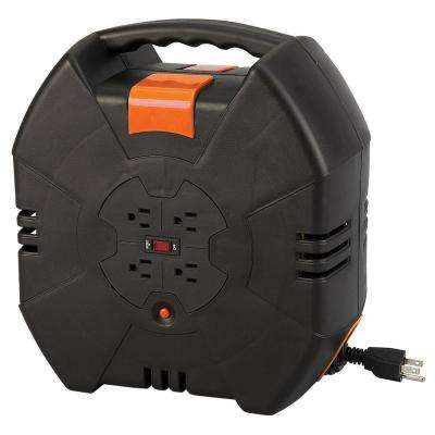 30 ft. 14/3 Auto-Rewind Extension Cord Reel