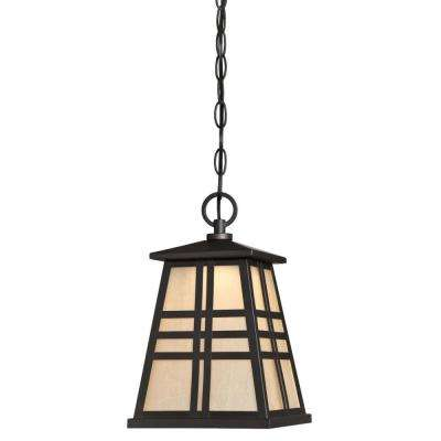 Creekview Oil Rubbed Bronze Integrated LED Outdoor Hanging Pendant