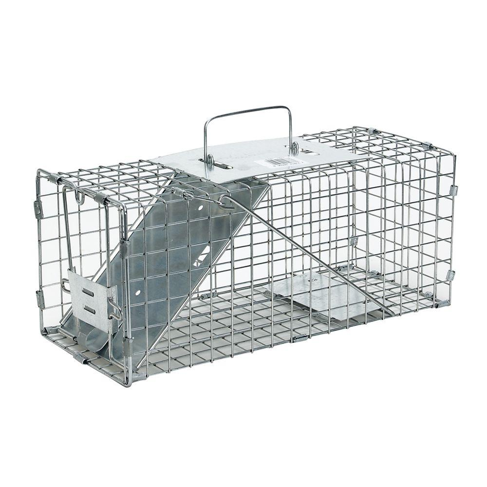 Small 1-Door Live Animal Cage Trap