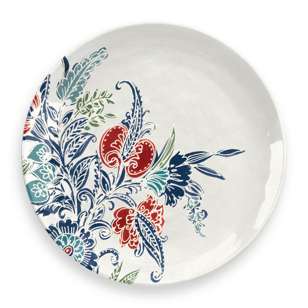 TARHONGDIRECT TAR HONG DIRECT Havana Floral Dinner Plate (Set of 6), Gloss