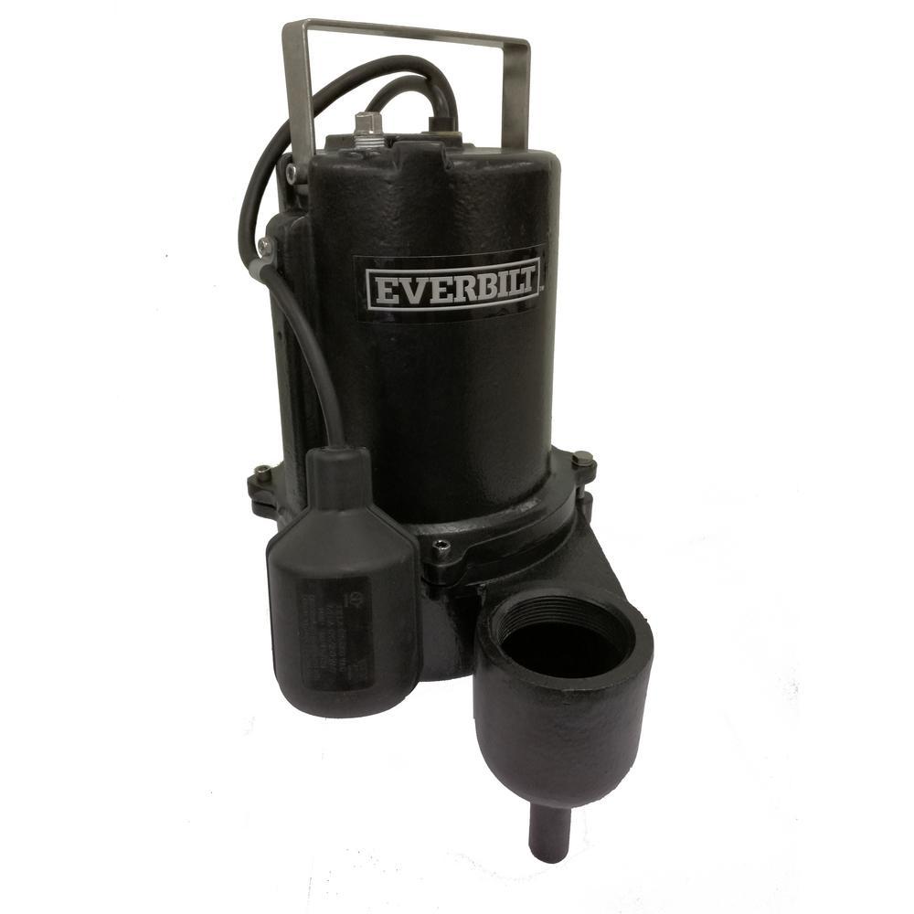 990326b27f Everbilt 6 10 HP Sewage Pump-ESE60W-HD - The Home Depot
