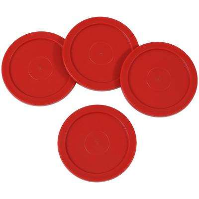 2.5 in. Replacement Air Hockey Game Table Pucks (4-Pack)