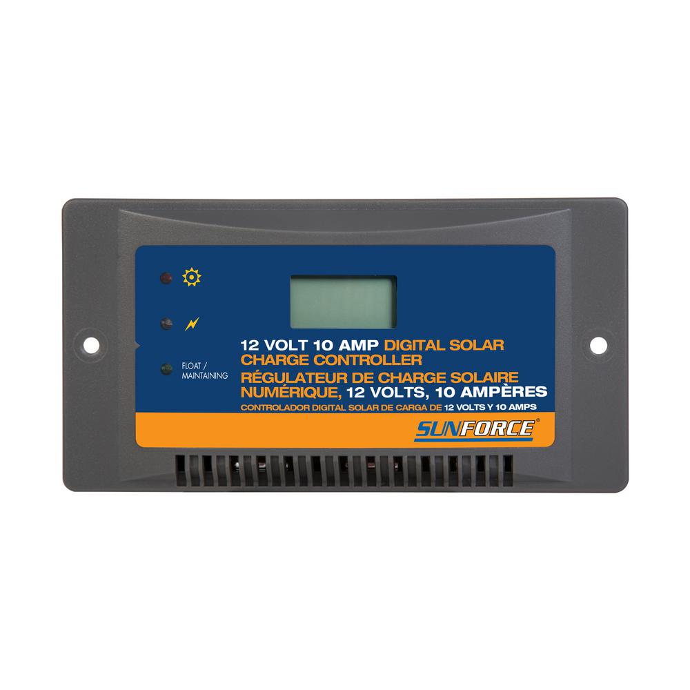Sunforce 10 Amp Digital Charge Controller
