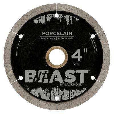 4 in. Reinforced Hub Hard Porcelain Blade 0.050 x 7/8 in.-20 mm-5/8 in. Wet