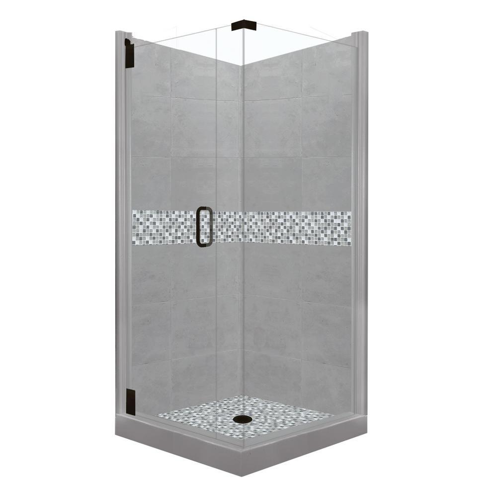 corner shower kits 36 x 36. Del Mar Grand Hinged 42 in  x 80 American Bath Factory 36