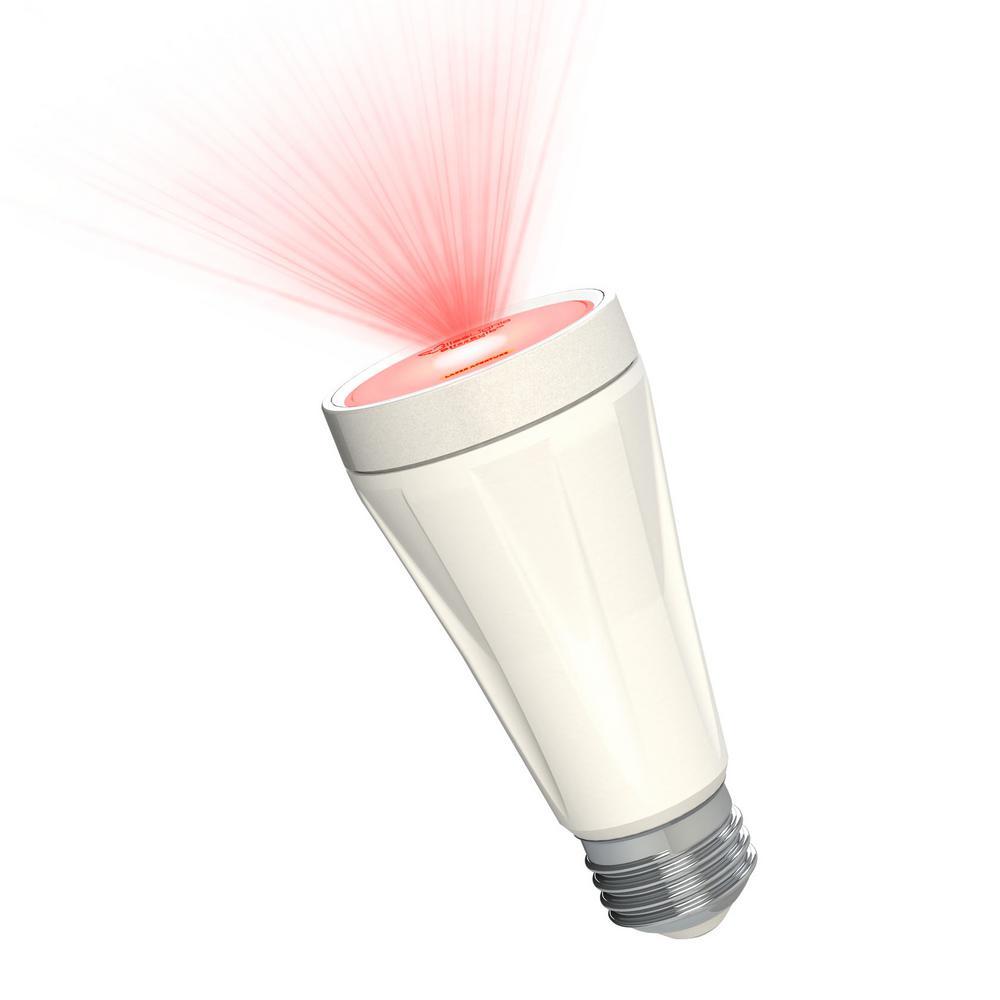 Blisslights Red Laser Blissbulb Bul Red Stn The Home Depot