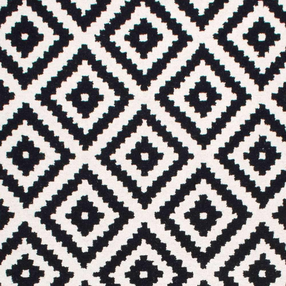 Nuloom Kellee Contemporary Black 8 Ft X Square Rug