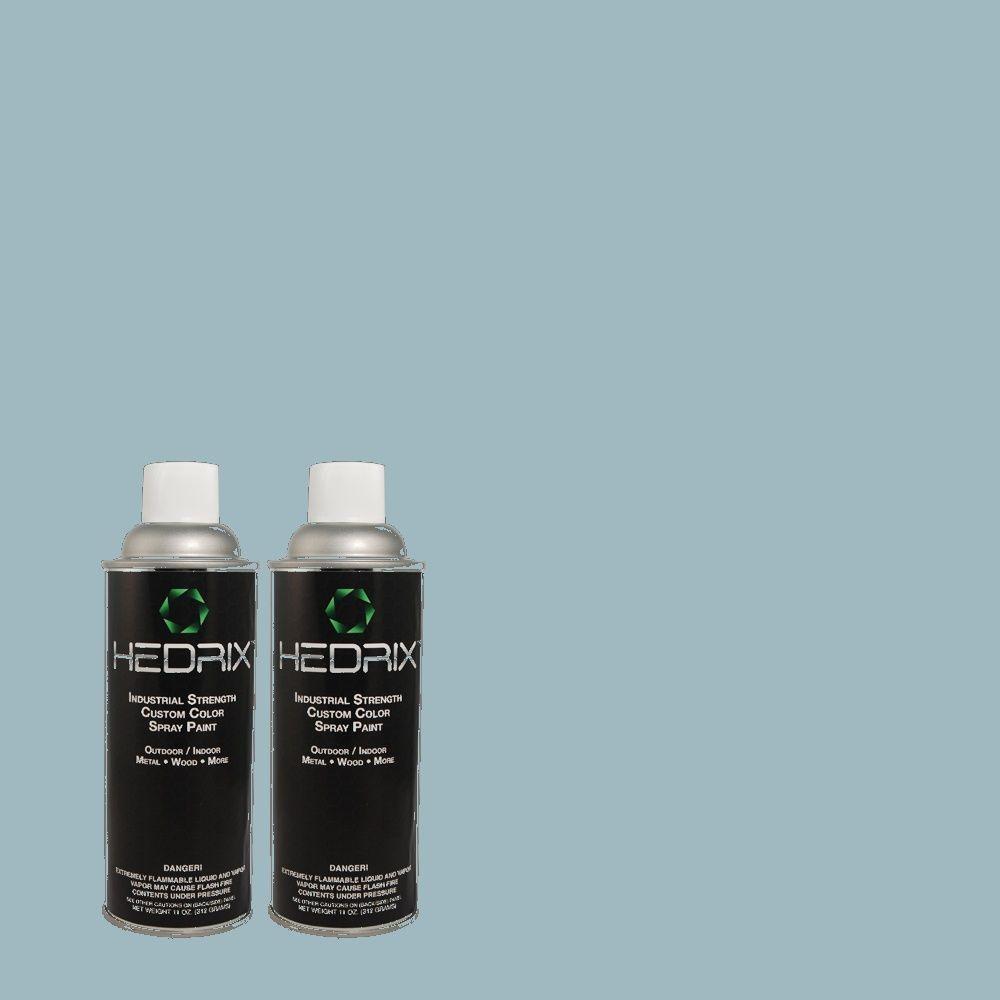 Hedrix 11 oz. Match of BHG-55 Kayak Gloss Custom Spray Paint (2-Pack)