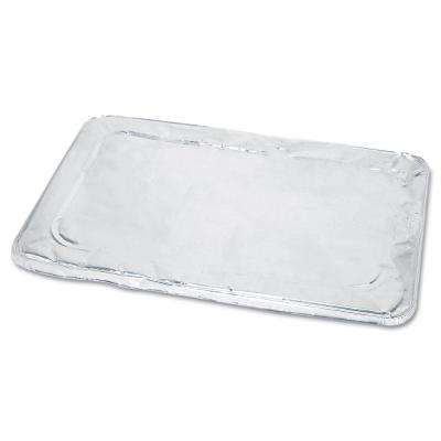 Steam Table Pan Foil Lid, Fits Full Size Pan, 50 Per Case