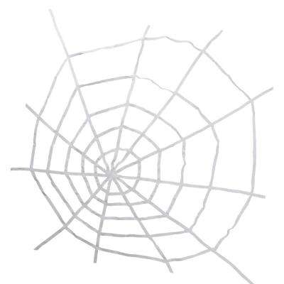80 in. White Spider Web Halloween Decoration