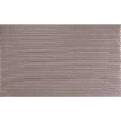 Soft Foot Gray 26 in. W x 30 ft. L Stair Runner