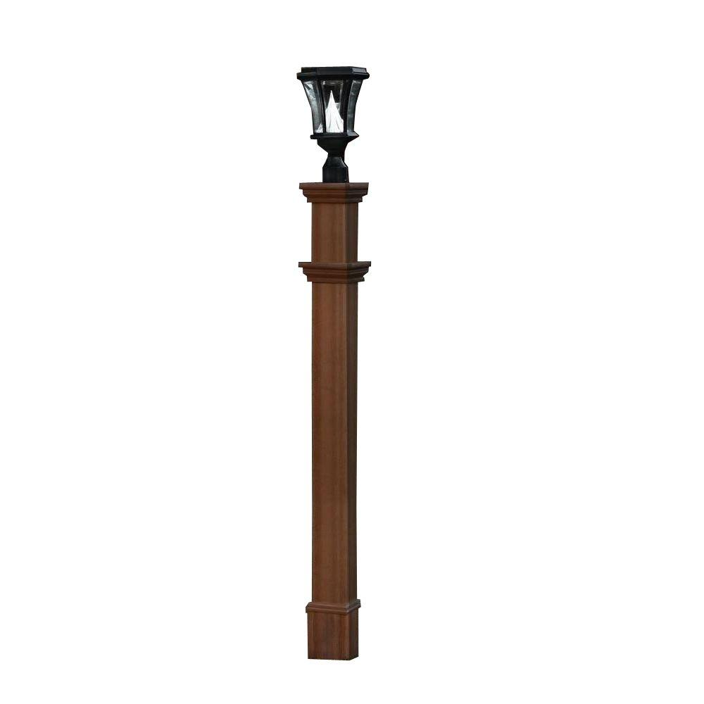 Fiberglass Light Post : New england arbors charleston in composite lamp post