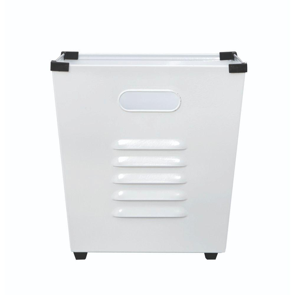 Lachlan White Metal Storage Bin (Set of 3)
