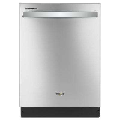 24 in. Top Control Built-In Tall Tub Dishwasher in Fingerprint Resistant Stainless Steel with Sensor Cycle