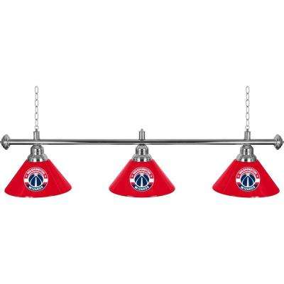 NBA 3-Light Washington Wizards Billiard Lamp