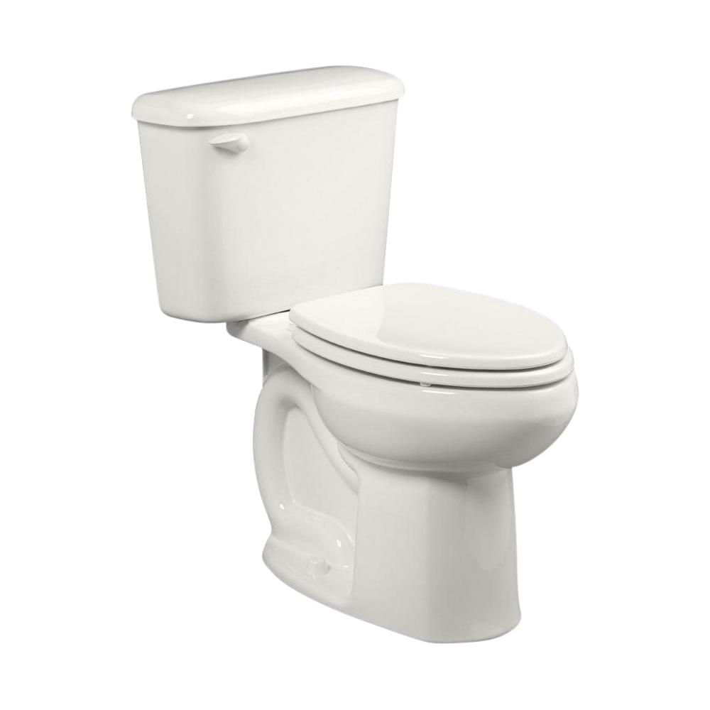 American Standard Colony Tall Height 10 in. Rough-In 2-piece 1.28 GPF Single Flush High-Efficiency Elongated Toilet in White