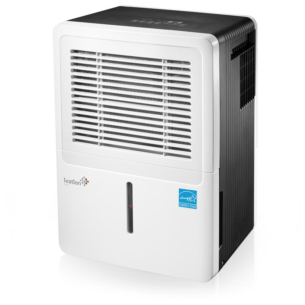 Ivation 30-Pint ENERGY STAR Compressor Dehumidifier for with Programmable