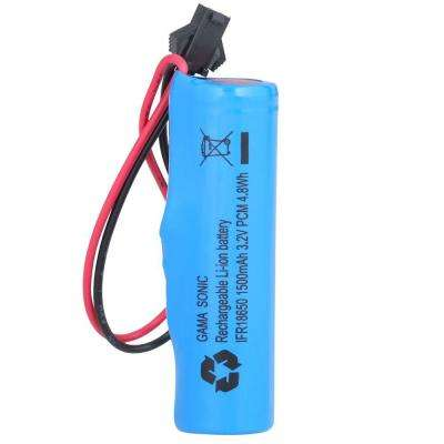 Replacement Lithium-Ion Battery for GS-52, 53, 98, 105, 106, 122, 124, 126, 127 Series Lamp Heads