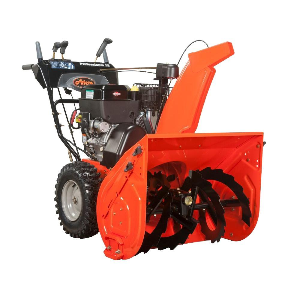 Ariens Professional Series 28 in. Two-Stage Electric Start Gas Snow Blower (926038)
