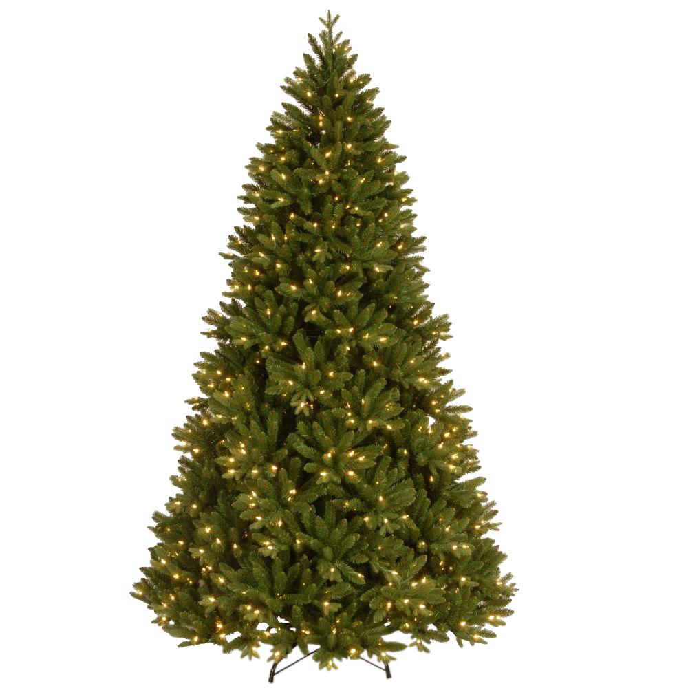 National Tree Company 7-1/2 ft. Feel Real Scandinavian Fir Hinged ...