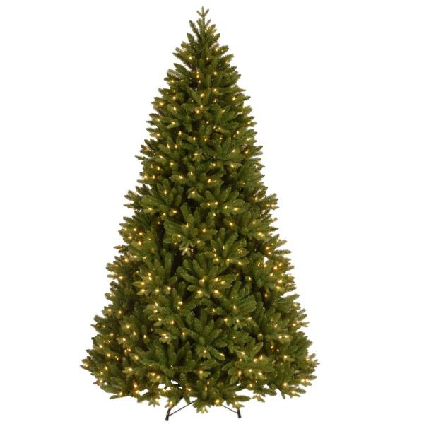 7-1/2 ft. Feel Real Scandinavian Fir Hinged Artificial Christmas Tree with 750 Clear Lights