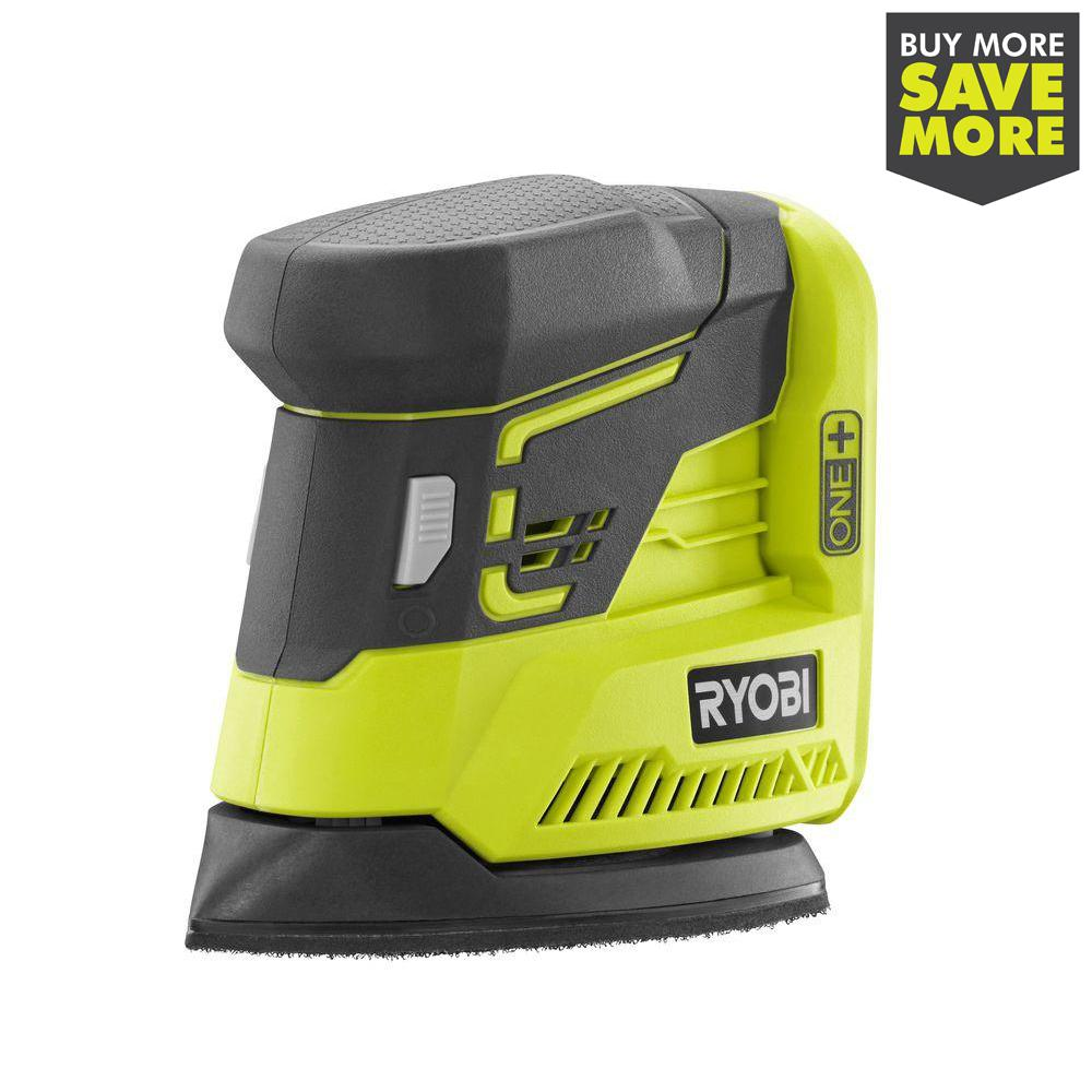 RYOBI 18-Volt ONE+ Corner Cat Finish Sander (Tool Only)