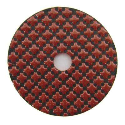 4 in. Diamond Polishing Pad Step-3 for Stone Polishing