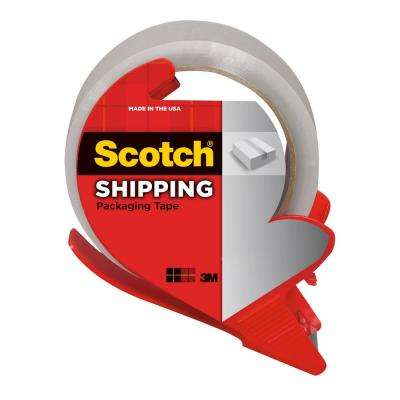 1.88 in. x 54.6 yds. Heavy Duty Shipping Packaging Tape with Dispenser