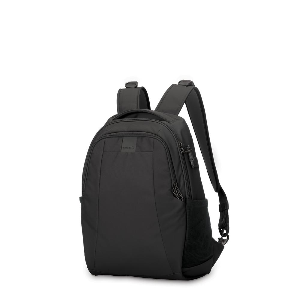 Pacsafe Metrosafe 17 In Black Backpack With Laptop Compartment