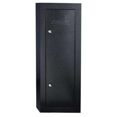 6-Gun Black Steel Security Cabinet