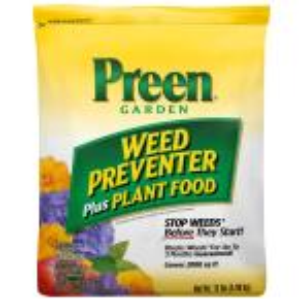 13 lbs. Garden Weed Preventer Plus Plant Food