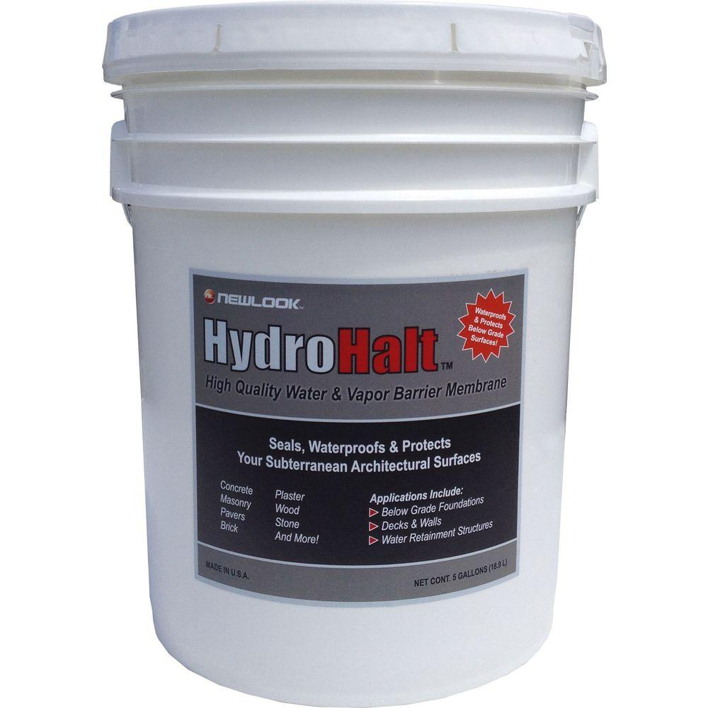 Garage Floor Water Barrier Flooring Home Decorating: HydroHalt 5-gal. Water And Vapor Barrier Membrane-HYDHLT5G