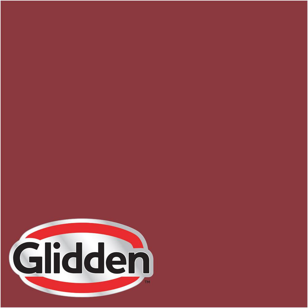 Hdgr51 Red Delicious Satin Interior Paint Sample