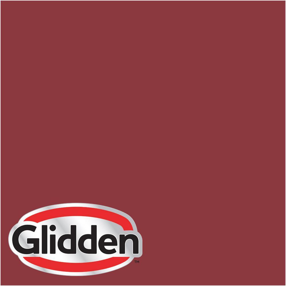 Glidden Premium 8 Oz Hdgr51 Red Delicious Satin Interior Paint Sample