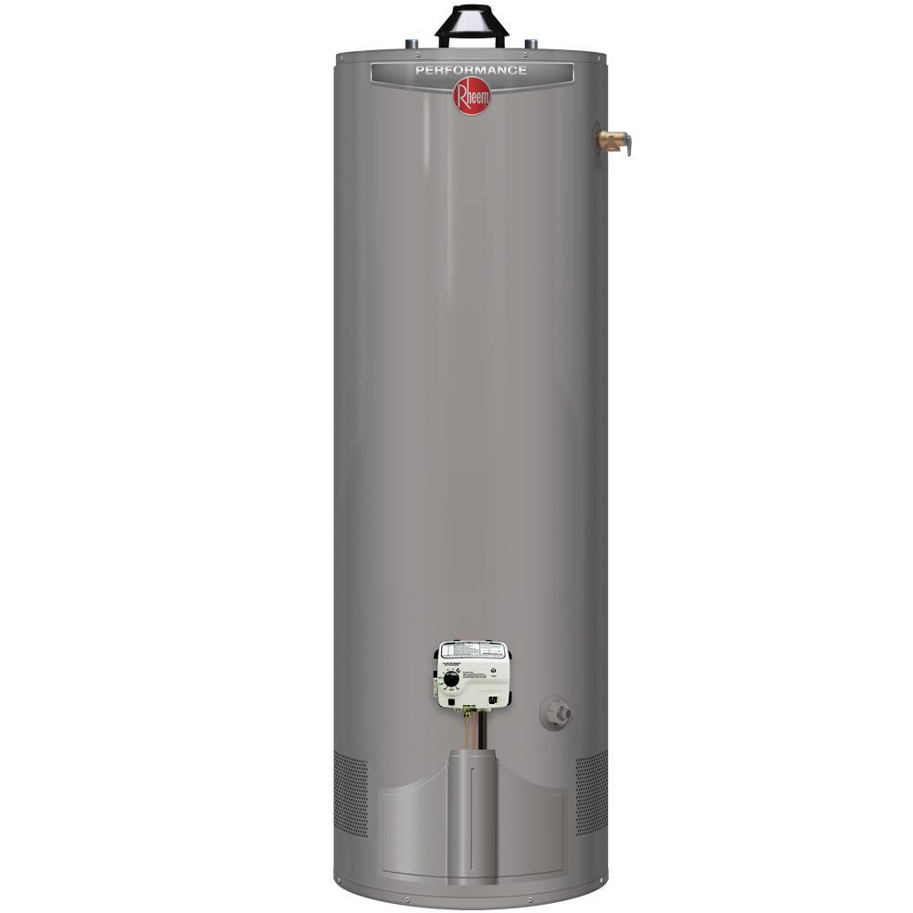 Performance 55 Gal. Tall 6 Year 45,000 BTU Ultra Low NOx (ULN) Natural Gas Tank Water Heater