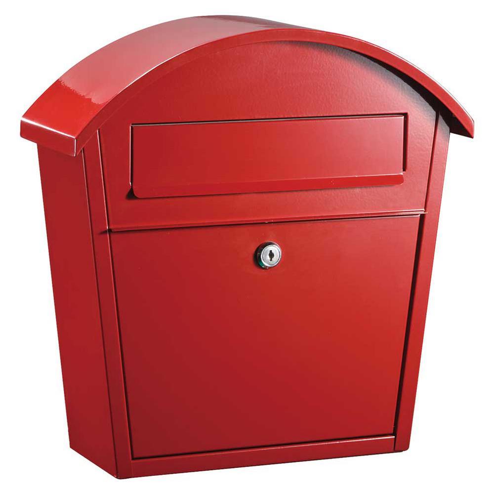 Qualarc Ridgeline Locking Mailbox Wf Pm16 Rd The Home Depot