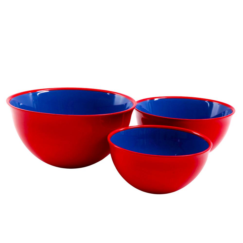 Bistro Edge 3-Piece Mixing Bowl Set
