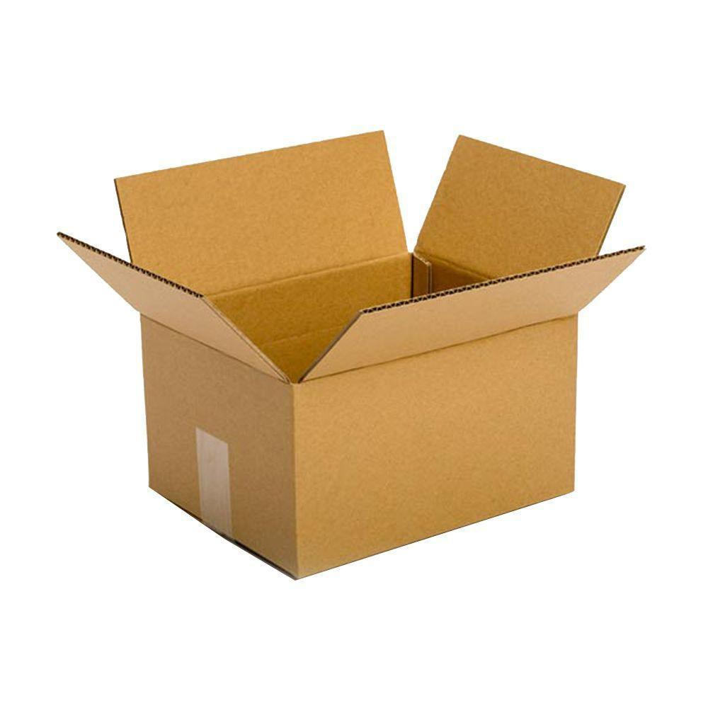 Pratt Retail Specialties 10 in. L x 8 in. W x 6 in. D Box (25-Pack)